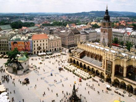Krakow Main Market Square