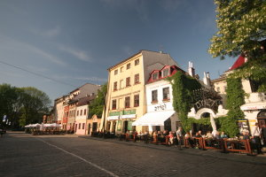 Szeroka street in Krakow