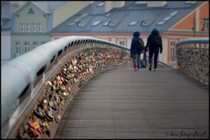 krakow pedestrian bridge