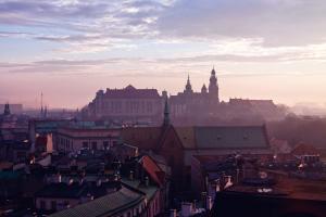 Zamglony Kraków