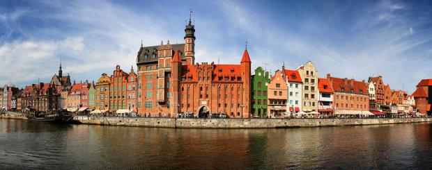 Gdansk panorama