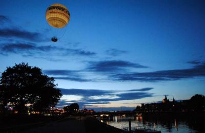 Krakow hot air ballon
